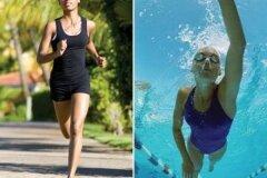 Бег или плавание
