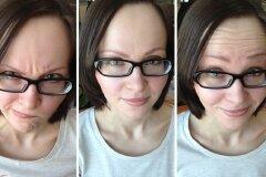 Результат применения масок с крахмалом