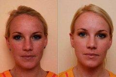 Снятие макияжа молочком