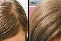 После применения шампуня для сухих волос