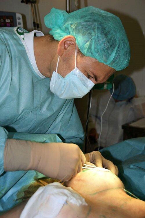 имплантация ход операции