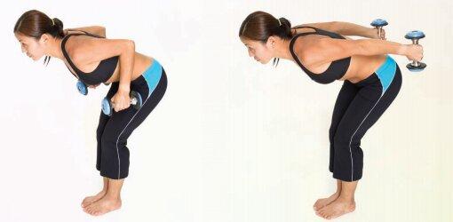 упражнение плавца