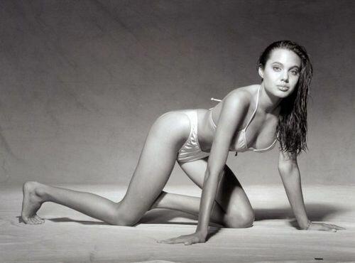 Анжелина Джоли до пластики