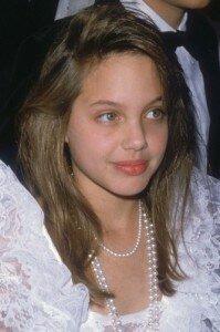 Анжелина Джоли в юности