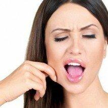 опущение жирового тела щеки
