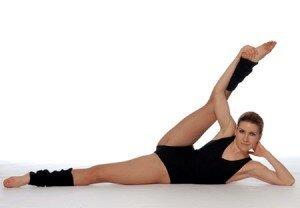 упражнения и спор против растяжек