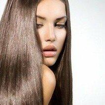 сияющие волосы