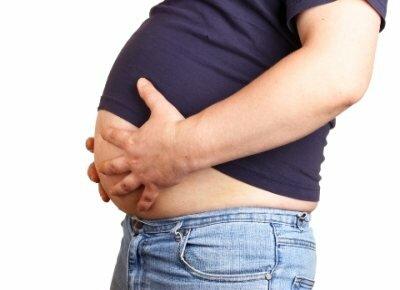 отложения жира у мужчин