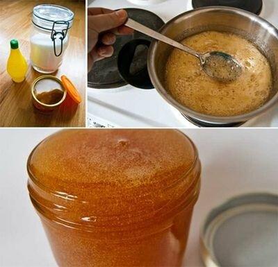 приготовление пасты для шугаринга