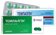 комбинированные препарат темпалгин