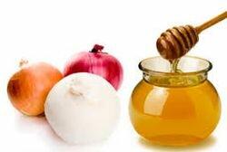 маска с луком и медом