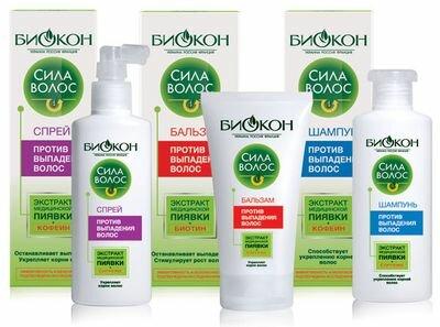 шампунь Биокон «Сила волос» против выпадения