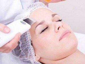 очищение лица ультразвуком