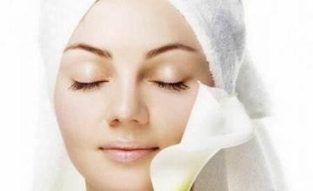 срединный пилинг кожи лица