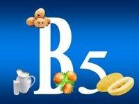 пантотеновая кислота – витамин В5