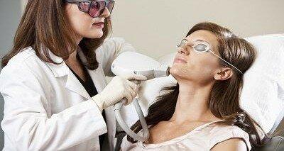 процедура лазерной чистки лица