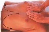 массаж груди д