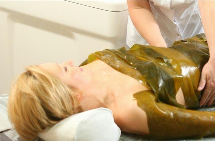 водорослевые обертывания для груди