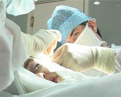 ход операции коррекции мошки уха
