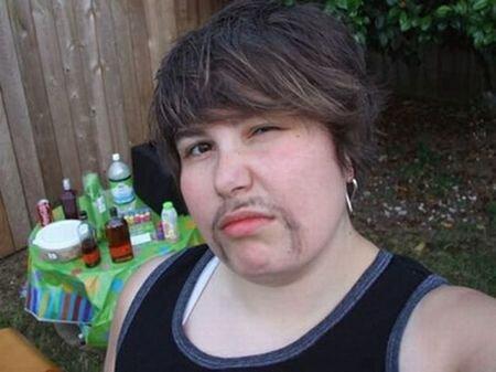 бородатая женщина