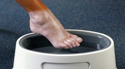 парафиновая ваночка для ног