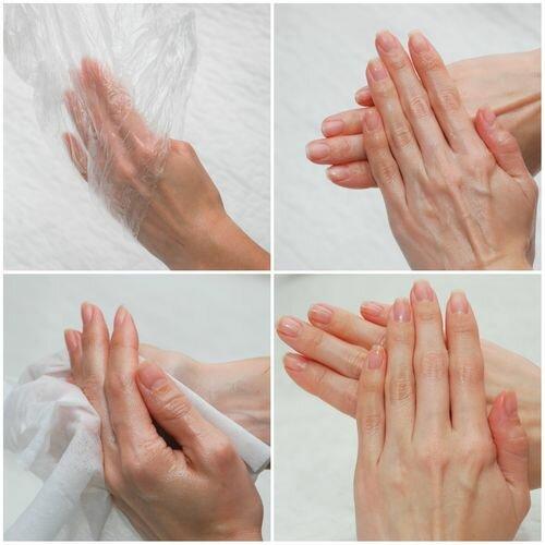 холодный парафин для рук