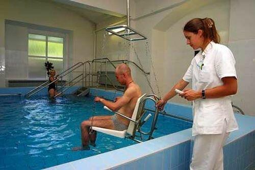 оздоровительные водные процедуры