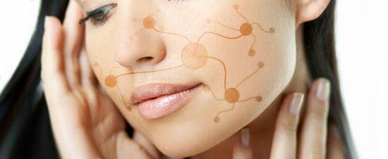 стимуляция кожи лица