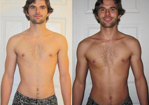фото до и после загара в солярии