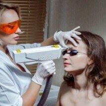 Процедура удаления бровей лазером