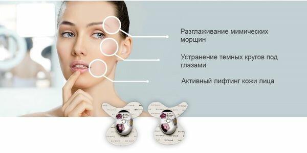 микротоковая терапия и миостимуляция лица