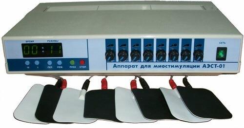 аппарат для миостимуляции тела