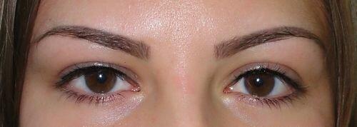 перманентный макияж бровей 2
