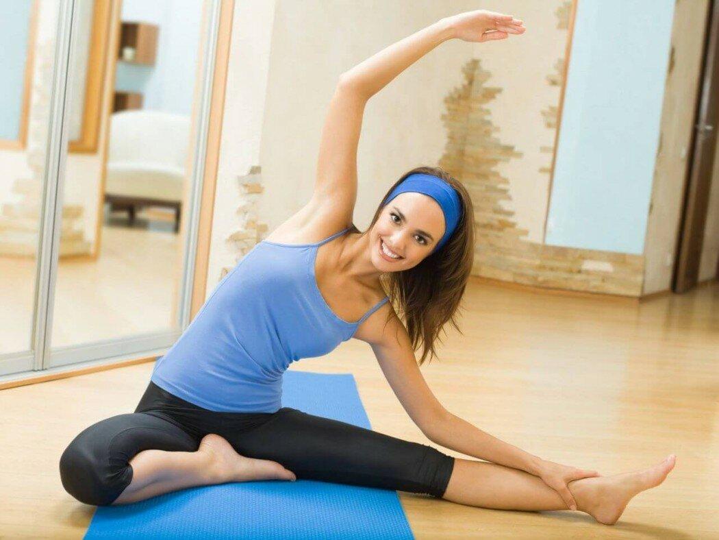 Фитнес упражнения и йога