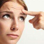 Как быстро убрать морщины на лбу в домашних условиях